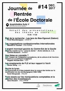 JRED2017 - Détail Présentations Doctorants